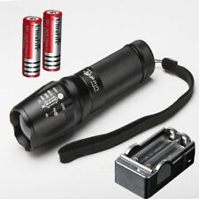 Ultrafire 10000LM CREE XML T6 2x Flashlight Focus Torch 2x18650 Battery Charger