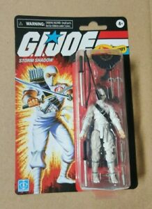 SOLD OUT IN HAND G.I JOE Retro Collection Storm Shadow Walmart Exclusive Figure