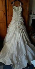 Ian Stuart Bouvardia Ivory Wedding dress size 12/14