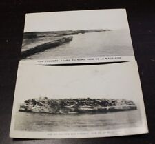 2x Vintage Postcard Iles de la Madeleine - Rare hard to Find