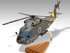 Kaman SH-2F Seasprite Wood Desktop Helicopter Model