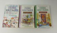 LOT OF 3 DEBBIE MACOMBER TRADE PAPERBACK BOOKS- -FREE SHIP