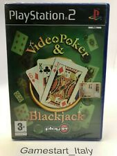 VIDEO POKER & BLACKJACK - SONY PS2 - GIOCO NUOVO SIGILLATO PAL - NEW SEALED