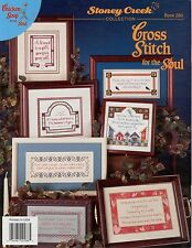 Cross Stitch for the Soul Cross Stitch Book - Stoney Creek #286 - OOP