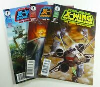 STAR WARS: X-WING ROGUE SQUADRON (1995) #2 3 4 RARE NEWSSTAND Lot FN to VF