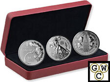 2017The Fogotten 1927 Designs-RCM Coin Lore Set of 3 Prf 1oz Silver .9999(18113)