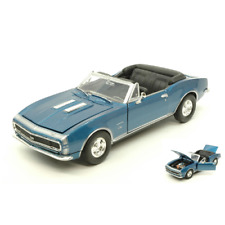 CHEVROLET CAMARO SS 1967 METALLIC BLUE 1:24 MotorMax Auto Stradali Die Cast