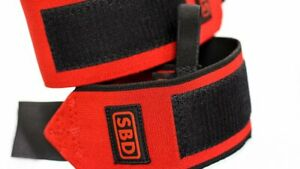 SBD Wrist Wraps Stiff & Flexible