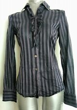 TED BAKER ladies shirt blouse size 8 long sleeve --MINT-- designer wear