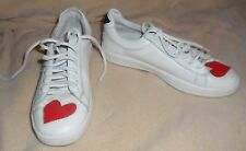 STEVE MADDEN  LIMIT  LACE-UP  WITH PATCHES SNEAKERS US SIZE  8 M
