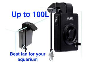 aFan Pro - aquarium cooling fan with integrated temperature sensor