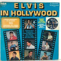 Elvis Presley In Hollywood RCA Special Products 20 Hits Vinyl LP Record Canadian