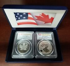 2019 U.S. Mint Pride of Two Nations 2-Coin Set PR-70 PCGS (FS)