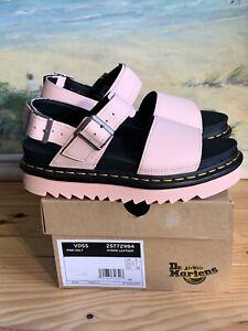 Womens Dr.martens Voss Pink Salt Sandals Size 5