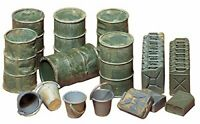 New Tamiya 1/35 Military Miniature Series No.26 jerry cans plastic model 35026