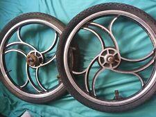 "vintage 20"" bmx rims w/ matching tires"