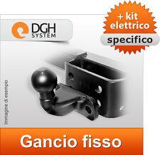 Gancio traino fisso Fiat Ducato 250 Cassone L1,L2,L3 dal06 + kit elettrico 7poli