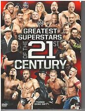 WWE: Greatest Stars of the New Millenium (DVD, 2011, 3-Disc Set) {2320}