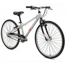 BYK E-620 3I Kids Mountain Road Bike MTR Suits Age 10-14 Silver Alloy