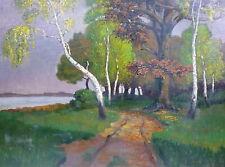 dipinto Frame Circa 1900 AUTOGRAFATO FRANCIA/Belgio