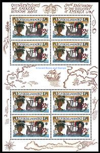 EBS Czechoslovakia 1992 - 500th Anniv. Discovery of America - Michel 3114KB MNH