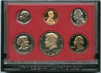 1980 United States Proof Set 6-Coin Collection - US Mint OGP