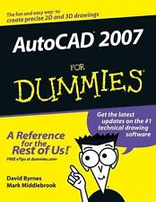 AutoCAD 2007 for Dummies by David Byrnes and Mark Middlebrook (2006, Paperback)