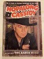 Hopalong Cassidy #56 Comic Book Fawcett Western Photo Cover William Boyd!!!!