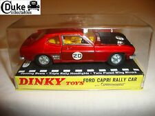 Dinky 213 Ford Capri Rally Coche-Nr Menta en Caja Original