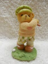 """Cherished Teddies """"Arnold """"You Putt"""" Me In A Great Mood"""" Figurine"""