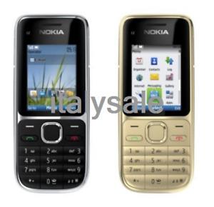 Original Nokia C2-01  Unlocked Bar Mobile Phone Hebrew Keyboard New Condition