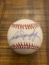 7x All-Star Dale Murphy SIGNED OML Baseball Atlanta Braves Steiner