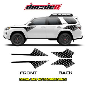 Toyota SR5 4Runner for 2013 - 2020 5th Gen Stripes Graphic Decal Sticker