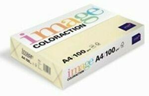 Image Coloured Printer Copy Paper – A4 Cream 100gsm 125 sheets