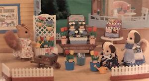 Sylvanian Families / Calico Critters Vintage Gardening Shop