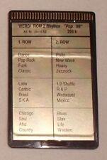 """Wersi Memory Card ROM 2  Rhythm """"Pop 88"""" für CD Orgeln"""