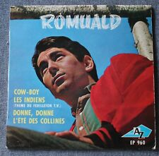 Romuald, cow boy + 3, EP - 45 tours
