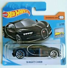 🚗 HOT WHEELS HW EXOTICS Bugatti Chiron '16 new short card black
