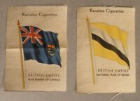 Kensitas Cigarettes Silk Flag Premiums