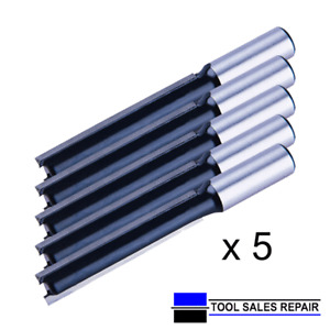 "1/2"" Worktop Twin Flute Cutter Bit TCT 12.7 x 63mm x 5no.  Top Quality"