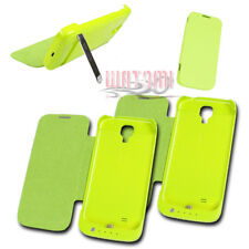 2X 3500MAH EXTERNAL BATTERY CHARGER CASE COVER GREEN FOR GALAXY S4 GT-I9500