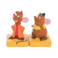 Vandor Cinderella Jaq and Gus Sculpted Salt & Pepper Set