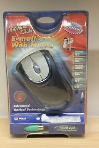 Mouse Club Optical Mouse with PS/2 Interface
