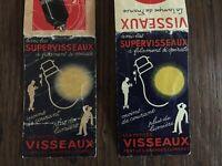 PUB 2x CARNET publicitaire VISSEAUX Radio la lampe de France