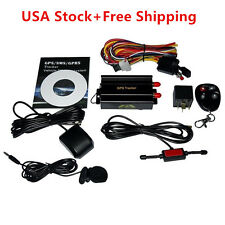 New TK103B Vehicle Car GPS SMS GPRS Tracker Real Time Tracking Device System EK