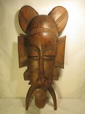 Afrika Holzmaske alt Schnitzerei