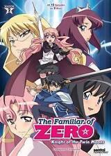 Familiar of Zero: Knight of the Twin Moo DVD