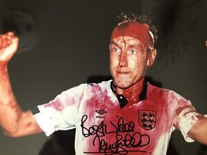 Terry Butcher Signed England 12x8 Photo