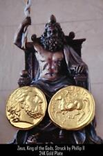 Zeus King of the Gods Greek coin Greek Mythology Percy Jackson Teen Gift (PJ4-G)