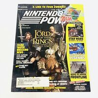 Nintendo Power Magazine Volume 164 + Skies Arcadia Poster Calendar N64 Gamecube